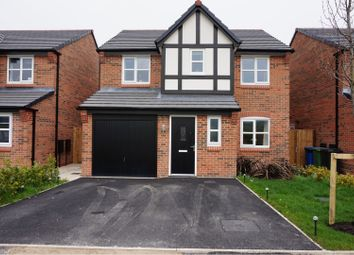 Thumbnail 4 bed detached house for sale in Leander Close, Manchester