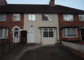 Thumbnail 3 bed terraced house to rent in The Ridgeway, Erdington, Birmingham
