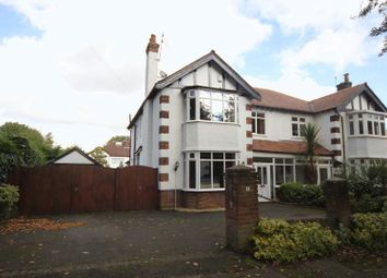 Thumbnail 4 bed semi-detached house for sale in Gayton Avenue, Higher Bebington, Wirral