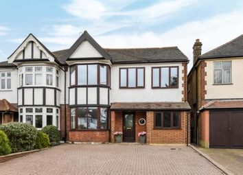 Thumbnail 5 bed semi-detached house for sale in The Ridgeway, Chingford, London