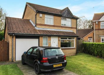 Thumbnail 3 bed detached house for sale in Swanton Close, Westerhope, Newcastle Upon Tyne