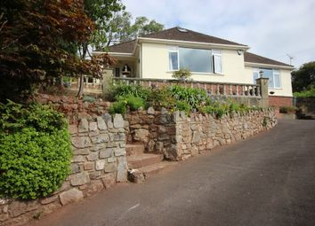 Thumbnail 4 bed detached bungalow for sale in Ash Hill Road, Torquay