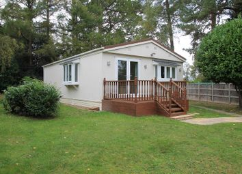 Thumbnail 2 bed mobile/park home for sale in The Larches, Warfield Park, Bracknell