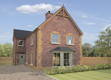 Thumbnail 3 bed detached house for sale in Hunters Lodge, Annesborough Road, Lurgan