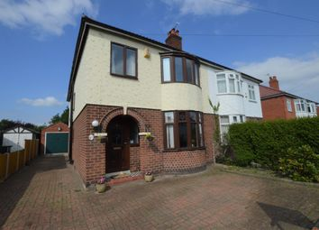 Thumbnail 4 bed semi-detached house for sale in Grove Avenue, Vicars Cross, Chester