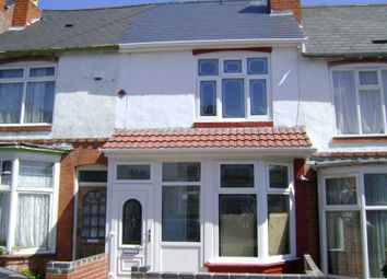 Thumbnail 2 bed terraced house to rent in Phillip Sidney Road, Sparkhill, Birmingham