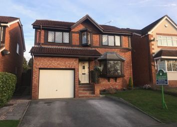 Thumbnail 4 bed detached house for sale in Field Lane, Wistaston, Crewe