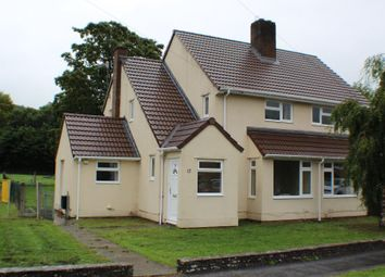 Thumbnail 2 bed semi-detached house to rent in Martell Way, Cwrt Y Gollen, Crickhowell
