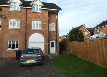 Thumbnail 3 bed town house to rent in Haydn Jones Drive, Nantwich