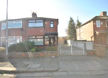 Thumbnail 3 bed semi-detached house for sale in Charlton Avenue, Eccles Manchester