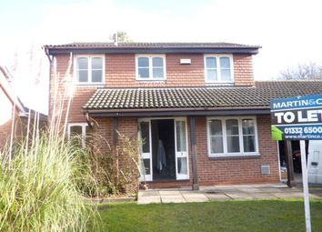 Thumbnail 4 bed detached house to rent in Maltby Close, Allestree, Derby