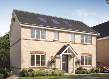 Thumbnail 4 bed detached house for sale in Barn Road, Longwick