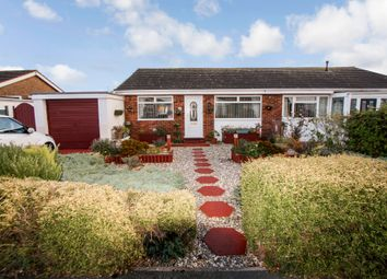 Thumbnail 2 bed semi-detached bungalow for sale in Llys Charles, Towyn, Abergele, Conwy