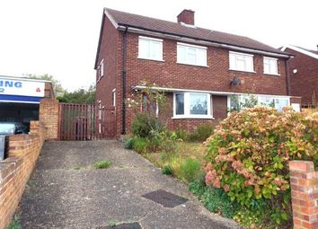 Thumbnail 2 bed semi-detached house for sale in Queens Drive, Bedford, Bedfordshire