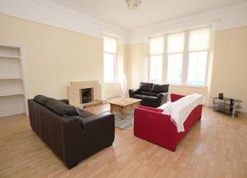 Thumbnail 3 bedroom flat to rent in Queen Margaret Drive, Glasgow