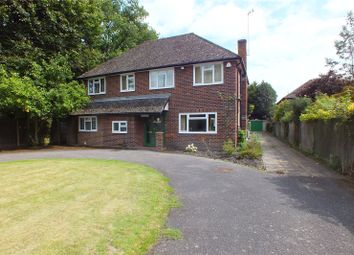 Thumbnail 4 bed detached house for sale in Velmead Road, Fleet