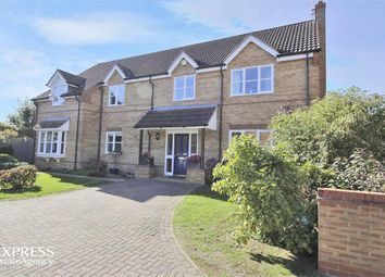 Thumbnail 4 bed detached house for sale in Pethley Lane, Pointon, Sleaford, Lincolnshire