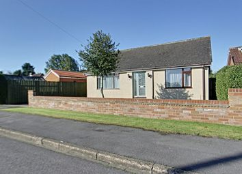 Thumbnail 1 bed detached bungalow for sale in Dene Close, Dunswell, Hull