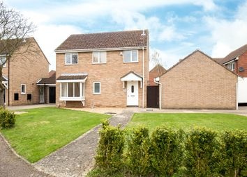 Thumbnail 3 bedroom detached house for sale in Orwell Close, St. Ives, Cambridgeshire