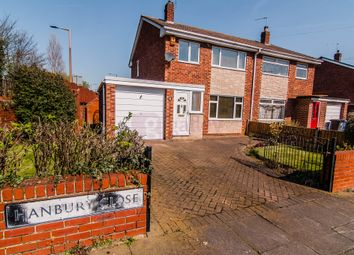 Thumbnail 3 bed semi-detached house for sale in Hanbury Close, Doncaster