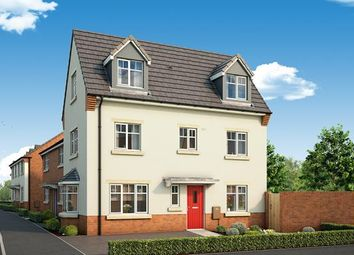 "Thumbnail 4 bed property for sale in ""The Rowan At The Willows, Dudley"" at Middlepark Road, Dudley"