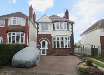 Thumbnail 3 bed detached house to rent in Trevanie Avenue, Quinton, Birmingham