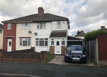 Thumbnail 3 bedroom semi-detached house to rent in Crathorne Avenue, Wolverhampton