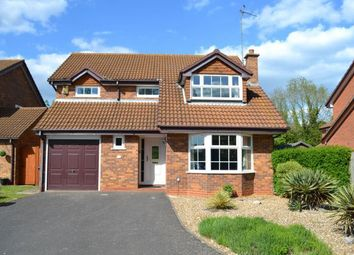 Thumbnail 4 bed detached house for sale in Marjoram Close, East Hunsbury, Northampton