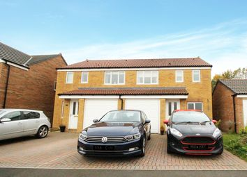Thumbnail 3 bed semi-detached house for sale in Dixon Way, Coundon, Bishop Auckland