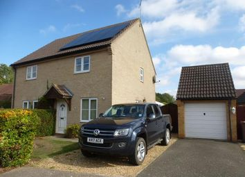 Thumbnail 2 bed property to rent in Capell Walk, Stanton, Bury St. Edmunds