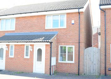Thumbnail 2 bed semi-detached house to rent in Harcourt Street, Hartlepool