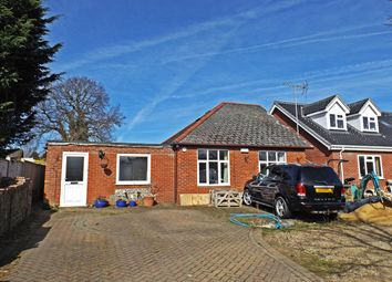 Thumbnail 3 bed bungalow for sale in The Drive, New Costessey, Norwich