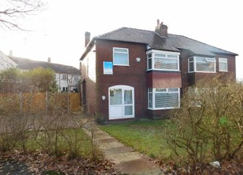 Thumbnail 3 bed semi-detached house for sale in Vernon Road, Bredbury, Stockport