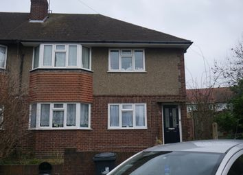 Thumbnail 2 bed flat to rent in Holmwood Close, Northolt