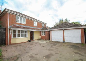 Thumbnail 4 bed detached house for sale in Borley Crescent, Elmswell, Bury St Edmunds