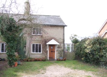 Thumbnail 3 bed semi-detached house for sale in The Street, Darsham, Saxmundham