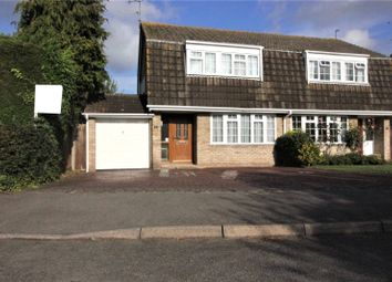 Thumbnail 3 bed semi-detached house for sale in Richborough Close, Earley, Reading, Berkshire