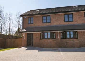 Thumbnail 4 bed semi-detached house for sale in Hollow Lane, Snodland