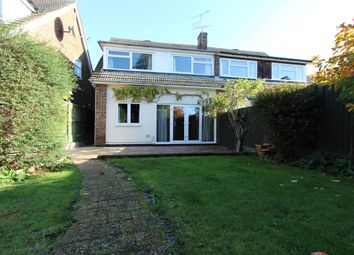 Thumbnail 4 bed semi-detached house to rent in Julian Close, Broomfield, Chelmsford