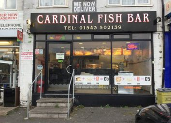Thumbnail Restaurant/cafe for sale in Chetwynd Gardens, Stafford Road, Cannock