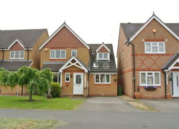 Thumbnail 3 bed detached house for sale in Jewsbury Way, Braunstone, Leicester