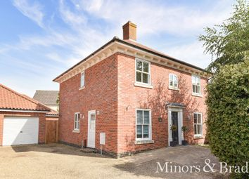 Thumbnail 4 bed detached house for sale in Tabernacle Lane, Forncett St. Peter, Norwich