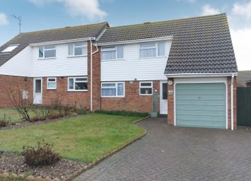 Thumbnail 4 bed semi-detached house for sale in Halstead Gardens, Cliftonville, Margate