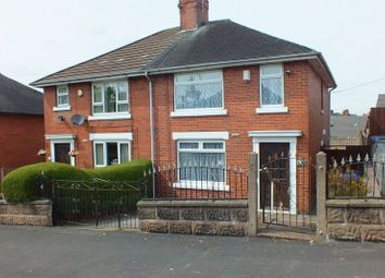 Thumbnail 3 bed semi-detached house for sale in Sherwin Road, Stanfields, Stoke-On-Trent