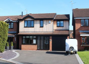 Thumbnail 4 bed detached house for sale in Ibis Gardens, Kingswinford
