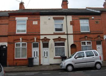 Thumbnail 3 bed terraced house to rent in Tennyson Street, Leicester
