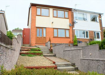 Thumbnail 3 bedroom semi-detached house to rent in Brynmead Close, Swansea