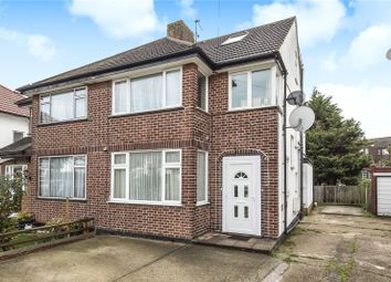 Thumbnail 3 bed flat for sale in Felbridge Avenue, Stanmore, Middlesex
