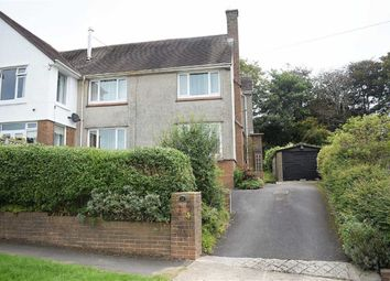 Thumbnail 3 bed semi-detached house for sale in Langland Court Road, Langland, Swansea