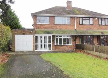 Thumbnail 3 bed semi-detached house to rent in Castlecroft Road, Finchfield, Wolverhampton